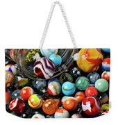 Glass Jar And Marbles Weekender Tote Bag by Garry Gay