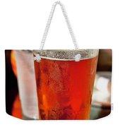 Glass Of Beer Weekender Tote Bag