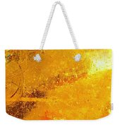 Glassworks Series-gold I Weekender Tote Bag