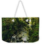 Glenariff, Co Antrim, Ireland Waterfall Weekender Tote Bag