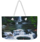 Glencar, Co Sligo, Ireland Waterfall Weekender Tote Bag