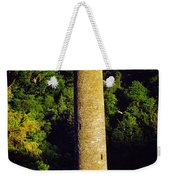 Glendalough, Co Wicklow, Ireland Round Weekender Tote Bag