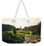 Glendalough Stream And Tower Weekender Tote Bag