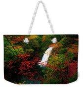 Glenoe Waterfall And Glen, Co Antrim Weekender Tote Bag
