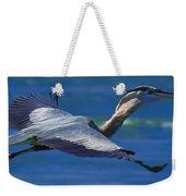 Gliding Great Blue Heron Weekender Tote Bag
