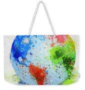 Globe Painting Weekender Tote Bag