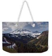 Glorious Mount Rainier Weekender Tote Bag