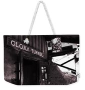 Glory Tunnel Mine Entrance In Calico California Weekender Tote Bag by Susanne Van Hulst