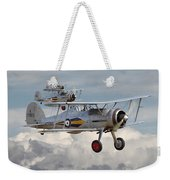 Gloster Gladiator Weekender Tote Bag by Pat Speirs