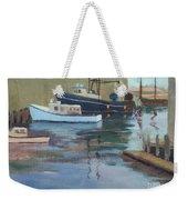 Gloucester Harbor Weekender Tote Bag