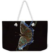 Glowing Butterfly Weekender Tote Bag