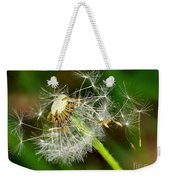 Glowing Dandelion Spores Weekender Tote Bag