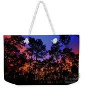 Glowing Forest Weekender Tote Bag