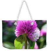 Glowing Globe Amaranth Weekender Tote Bag
