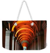 Glowing Iteration Weekender Tote Bag by Andrew Paranavitana