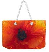 Glowing Poppy Weekender Tote Bag