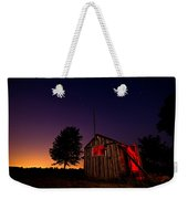 Glowing Shed Weekender Tote Bag