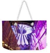 Glowing Sony Center Weekender Tote Bag