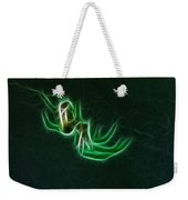 Glowing Spider Weekender Tote Bag