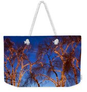Glowing Trees Weekender Tote Bag