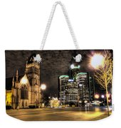 Gm Building Detroit Mi Weekender Tote Bag