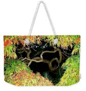 Gnarly Autumn Beauty Weekender Tote Bag