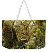 Gnomes In The Rainforest Weekender Tote Bag