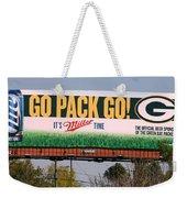 Go Pack Go Weekender Tote Bag