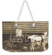 Goat Wagon Weekender Tote Bag