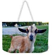 Goatee Weekender Tote Bag