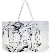 God The Father And God The Son Weekender Tote Bag
