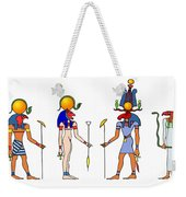 Gods And Goddess Of Ancient Egypt Weekender Tote Bag by Michal Boubin