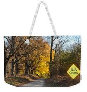 Gods Country Weekender Tote Bag
