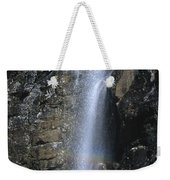 Going To The Sun Road Waterfall Weekender Tote Bag