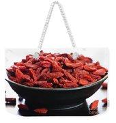 Goji Berries Weekender Tote Bag by Elena Elisseeva