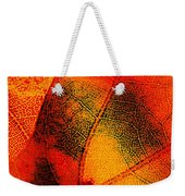 Gold And Green Weekender Tote Bag