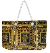 Gold Cathedral Ceiling Italy Weekender Tote Bag