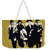 Gold Couples Weekender Tote Bag