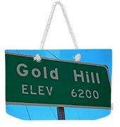 Gold Hill Weekender Tote Bag