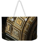 Gold Inlay Arches St. Peter's Basillica Weekender Tote Bag