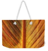 Gold Leaf Weekender Tote Bag