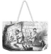 Gold Mining Camp, 1853 Weekender Tote Bag