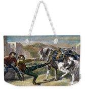 Gold Prospectors, C1876 Weekender Tote Bag