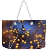 Golden Berries Weekender Tote Bag