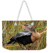 Golden Bird Weekender Tote Bag