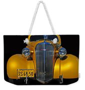 Golden Chevrolet Weekender Tote Bag