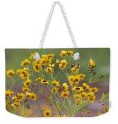 Golden Coreopsis Tickseed Wildflowers Weekender Tote Bag