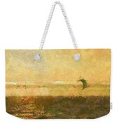 Golden Day Painterly Weekender Tote Bag