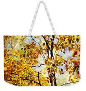 Golden Dress Haute Couture. Inspired By Autumn  Weekender Tote Bag