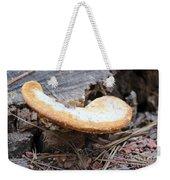 Golden Edged Mushroom Weekender Tote Bag